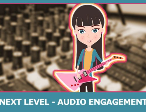 Increasing Engagement Through Audio