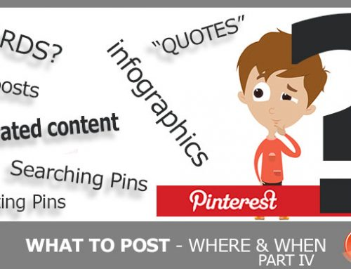 Social Media Outlets – What to Post Where, and When! – Part IV