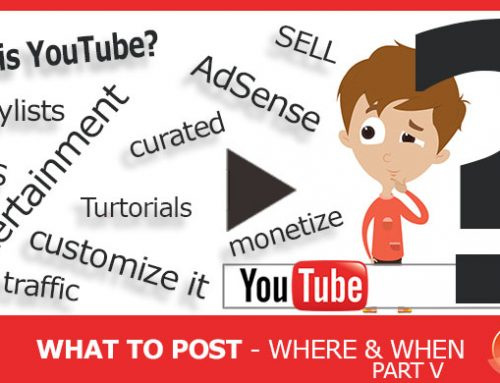 Social Media Outlets – What to Post Where, and When! – Part V