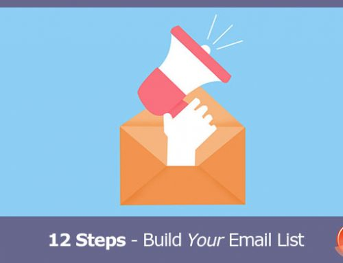 12 Steps To Build Your Email Marketing List