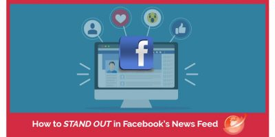 stand out in your facebook news-feed