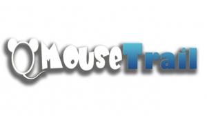 mouse trail logo