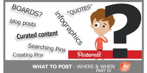 Pinterest - What to post
