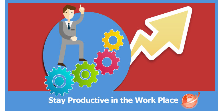 stay productive in the workplace