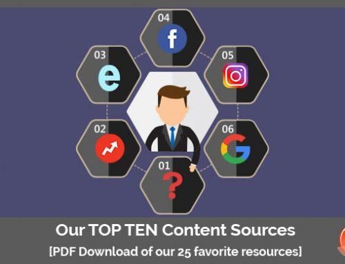 Magiweb's Top Ten Content Sites