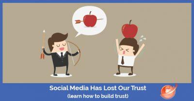 build social media trust