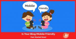 mobile friendly blog