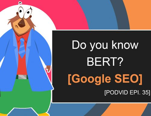 Do you know BERT? [Google SEO]